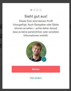 Airbnb Profilbild