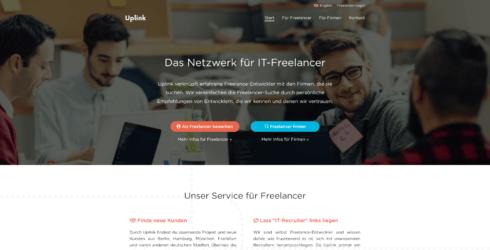 Uplink Startseite Screenshot