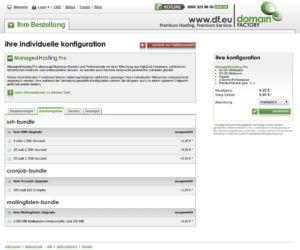DomainFactory ManagedHosting Pro Eröffnung