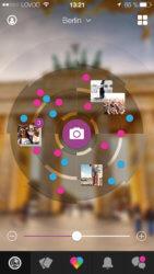Live Radar in der mobilen Lovoo-App