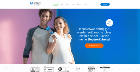Smartsteuer Startseite